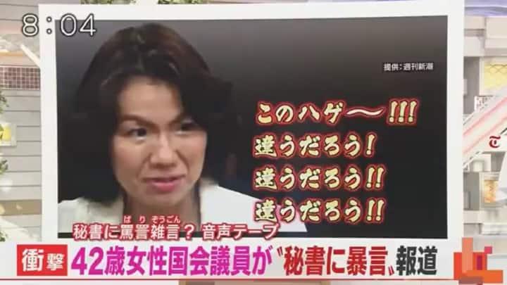 豊田真由子議員「違うだろう」発言