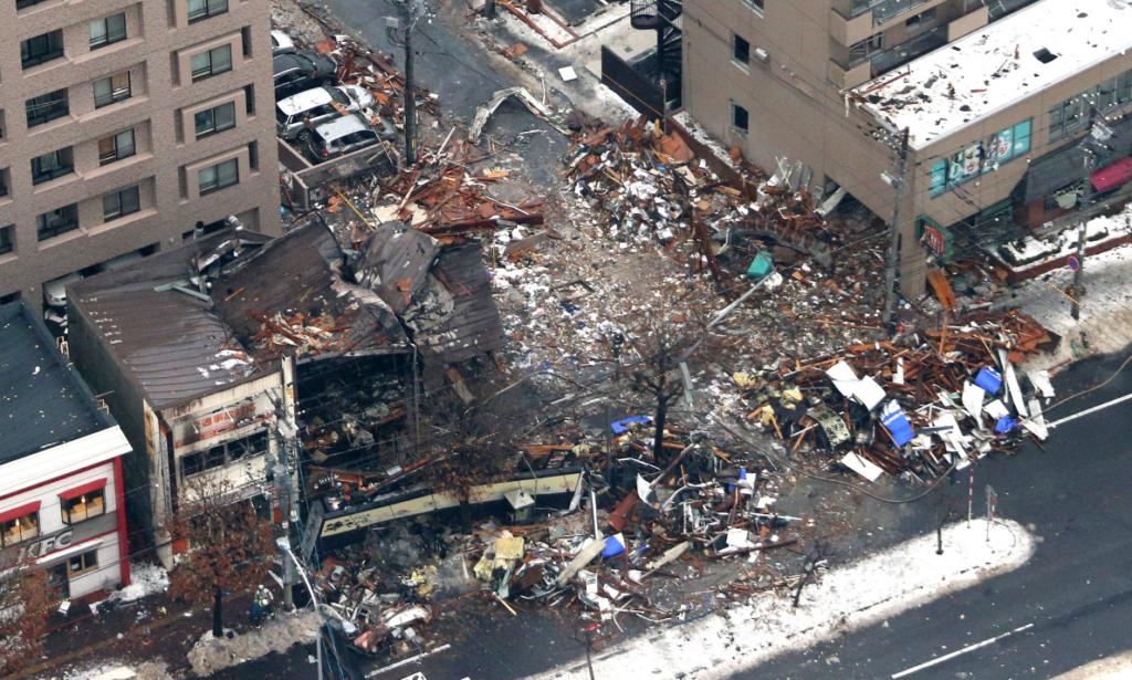 札幌市内のアパマンショップ爆発事故
