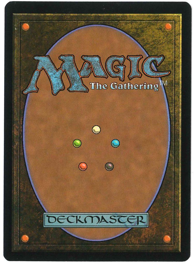 マジック:ザ・ギャザリング カード裏面